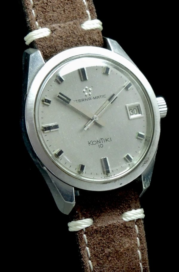 Calatrava Eterna Kontiki Automatic with Steel Case