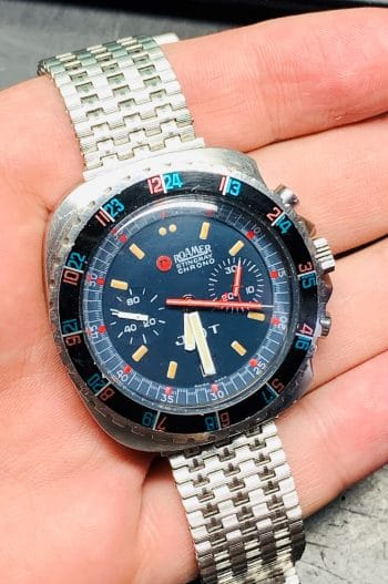 Roamer Stingray Chronograph Vintage Diver
