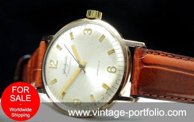 Vintage Glashütte Spezimatic Automatic Uhr