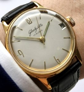 Perfect 34mm Glashütte Vintage Watch