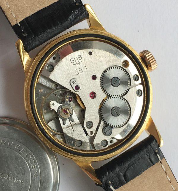 Perfect 34mm Glashütte Vintage Watch