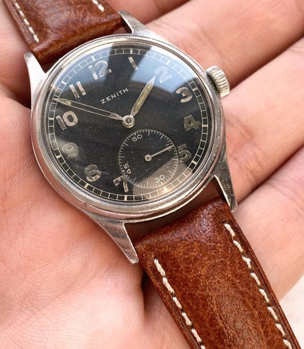 35mm Militäruhr Zenith Vintage Uhr Deutsches Heer WW2