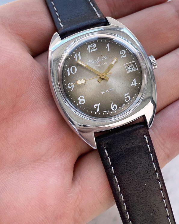 Vintage GUB Glashütte Spezimatic Automatic Brown Dial
