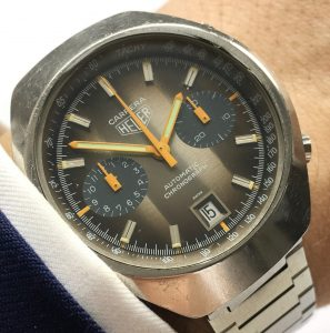 [:en]Professionally Serviced Heuer Carrera Automatic Perfect Cotes de Geneve Dial[:de]Professionally Serviced Heuer Carrera Vintage Automatik Cotes de Geneve Dial[:]