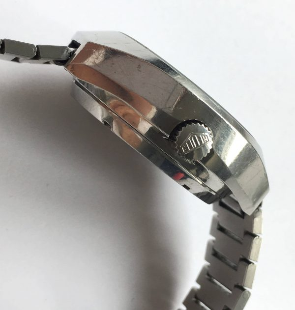 Professionally Serviced Heuer Carrera Automatic Perfect Cotes de Geneve Dial