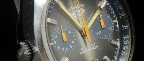 Heuer Carrera Automatic Perfect Cotes de Geneve Dial