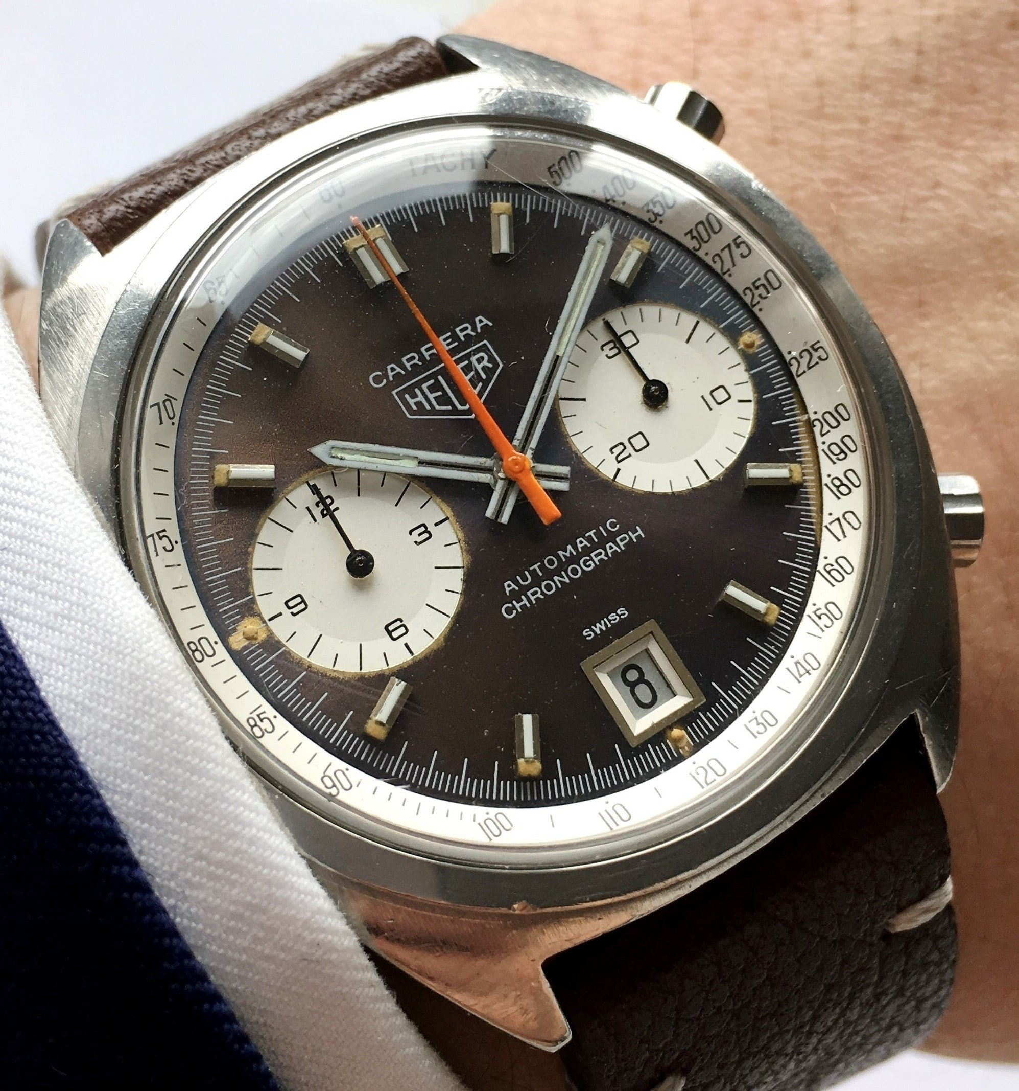Heuer Carrera Vintage Chronograph Automatic – Vintage ...