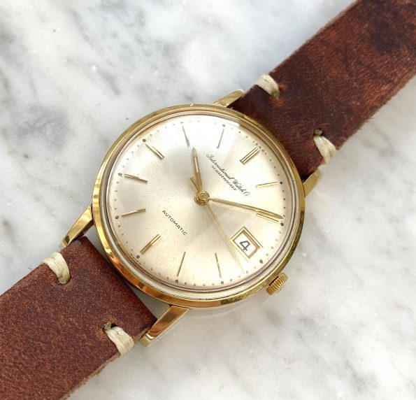 IWC Solid GOLD with ORIGINAL PAPERS and ORIGINAL INVOICE from1965