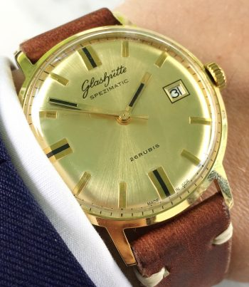 Vintage GUB Glashütte Spezimatik Automatic Date
