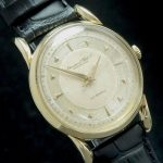 Rare IWC Automatic solid gold watch with amazing dial
