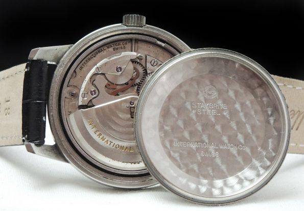 IWC Ingenieur Automatic Vintage Stahl Amagnetic 36mm