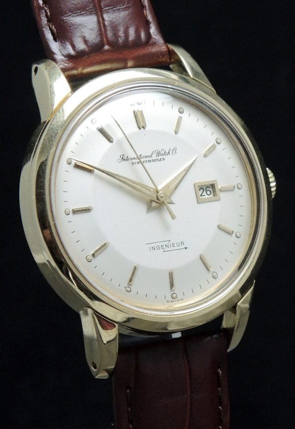 36mm IWC Ingenieur 18ct solid gold Vintage Pie Pan Anti Magnetic