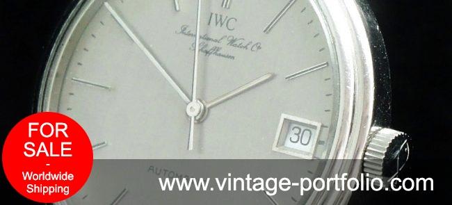 Amazing IWC Portofino Automatic Vintage Date Steel