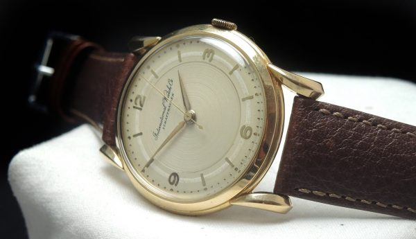 Great 18 ct solid gold IWC Vintage Watch 36mm