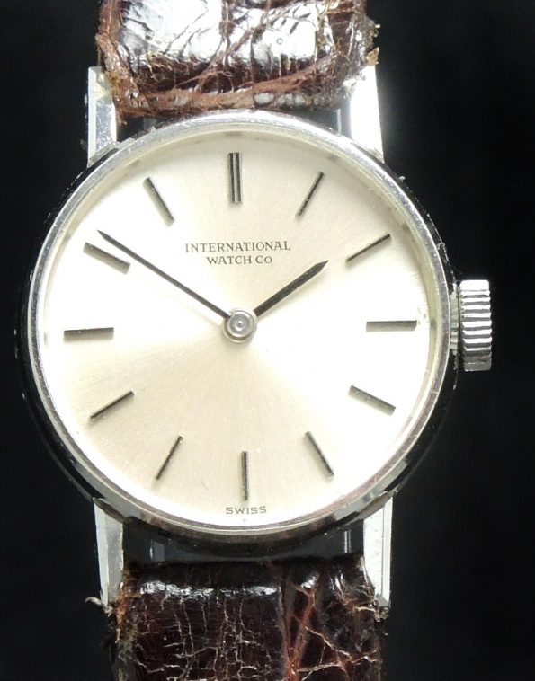 Rare IWC Ladies Watch in 18 Karat White gold