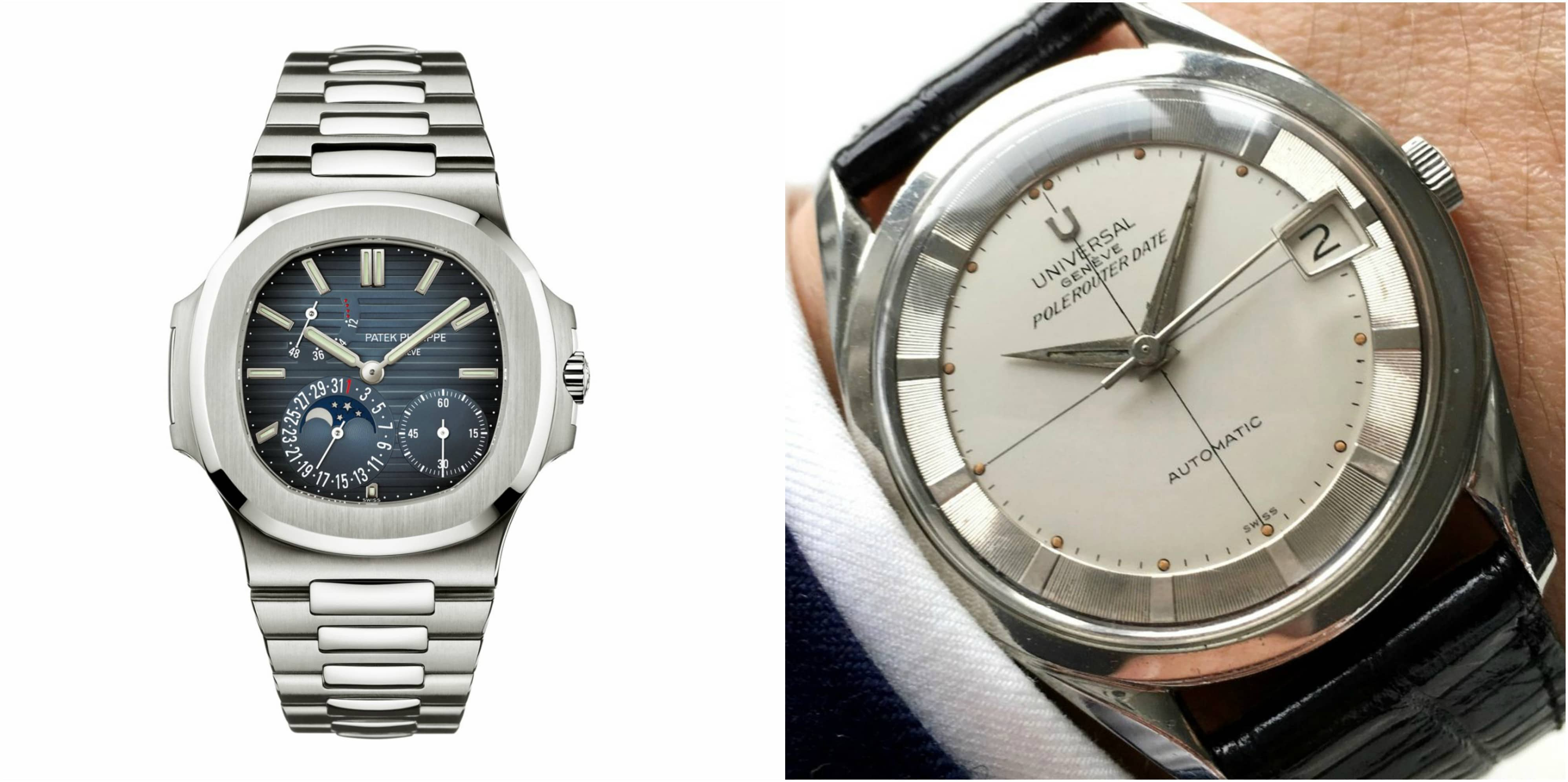 Universal Genève Polerouter: Forefather of the Patek Philippe Nautilus?