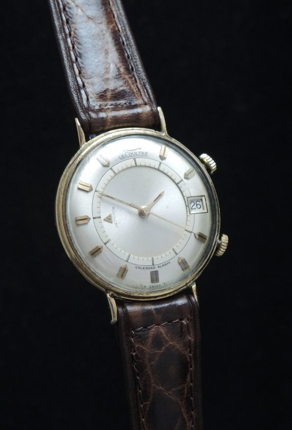 Serviced Jaeger LeCoultre 35mm Memovox Date Vergoldet