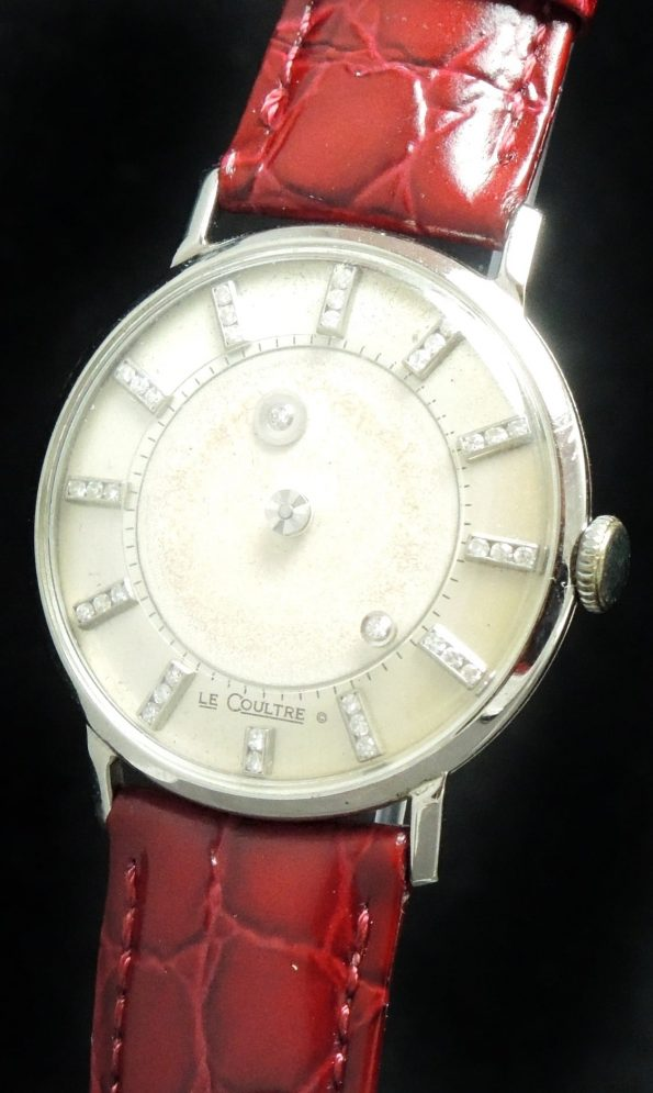 Jaeger LeCoultre Galaxy Mystery - White gold case diamond dial
