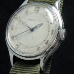Vintage Jaeger LeCoultre Handwinding watch with Nato Strap