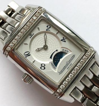 Jaeger-LeCoultre Lady Reverso Gran Sport Duetto Diamond FULL SET