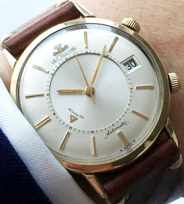 Jaeger LeCoultre Memovox 38mm Automatic Date Oversize Jumbo