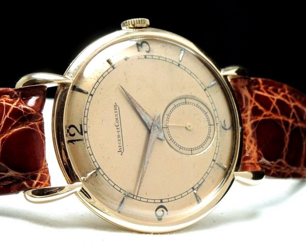 Jaeger LeCoultre Teardrop Lugs solid pink gold