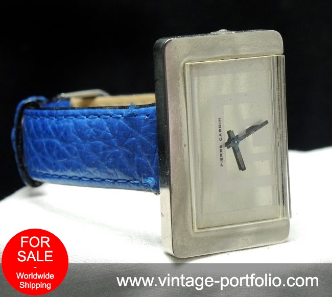 Rare Jaeger LeCoultre for Pierre Cardin watch of the 70ties