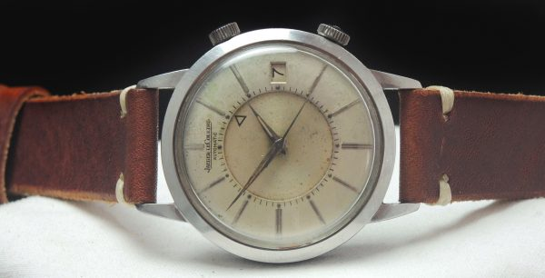 Jaeger LeCoultre 37mm Automatic Memovox Stahl