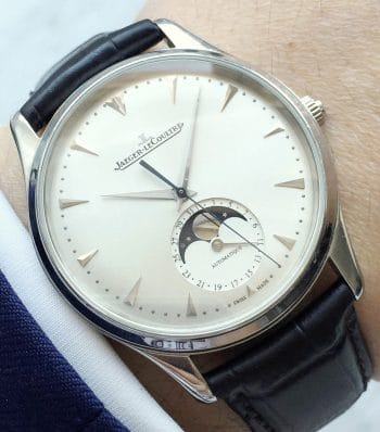 Wonderful Jaeger LeCoultre Master Ultra Thin Moonphase Calendar Dresswatch