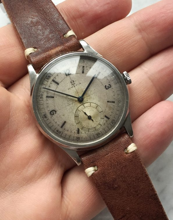 Serviced Omega Sector Dial Oversize Jumbo 37mm