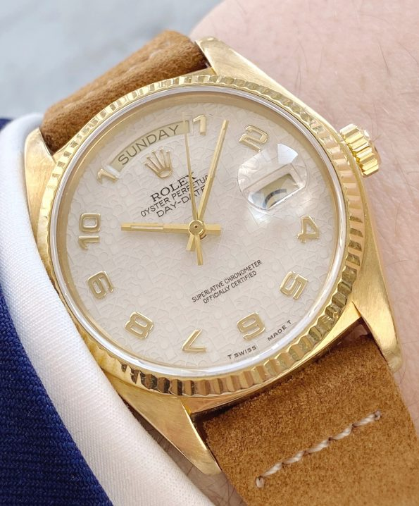 Ref 18038 Rolex Day Date President 18ct Yellow Gold with a Rlx Jubilee Dial
