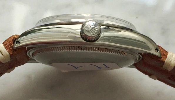 Serviced Rolex Air King Automatic Silver Sunburst Dial