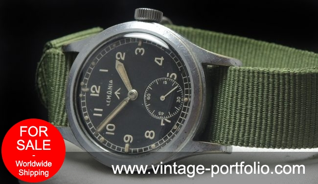 Lemania Vintage RAF Dirty Dozen Military Air Force ww2 www