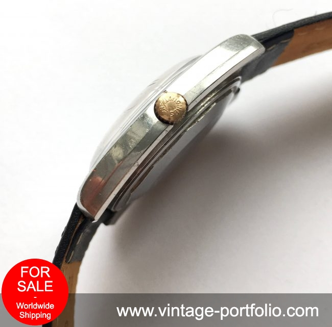 Beautiful Longines Admiral Vintage Automatic blue dial