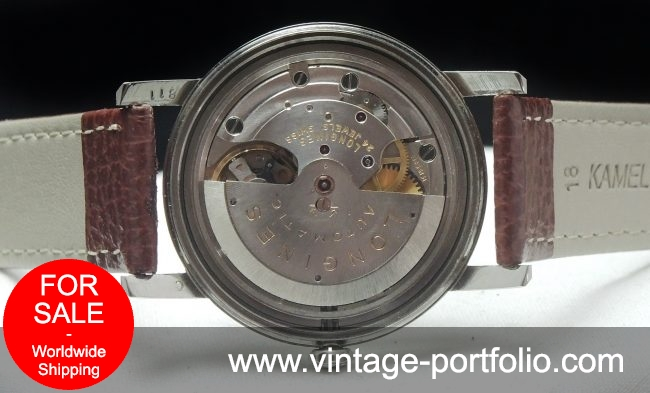 Perfect Longines Automatic Heritage Conquest Linen Dial Vint