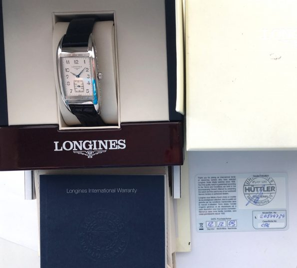 Full Set Longines Belle Arti Quarz with Box and Papers
