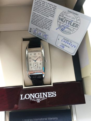 Full Set Longines Belle Arti Quarz Quartz Box and Papers