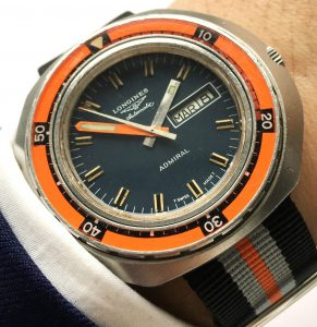 Wonderful Longines Diver Vintage 70ties Automatic