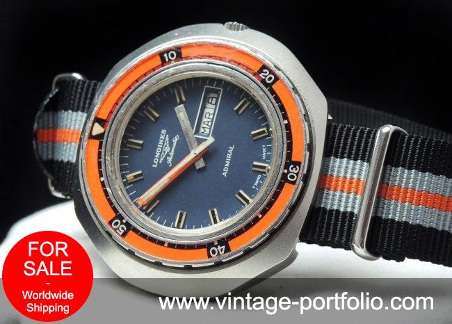 Wonderful Longines Diver Vintage 70ties Automatic