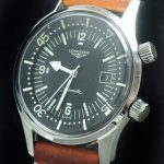 Original Longines Legend Diver Date with Papers Heritage
