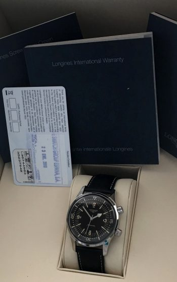 Original Longines Legend Diver NO Date Full Set - Supererare