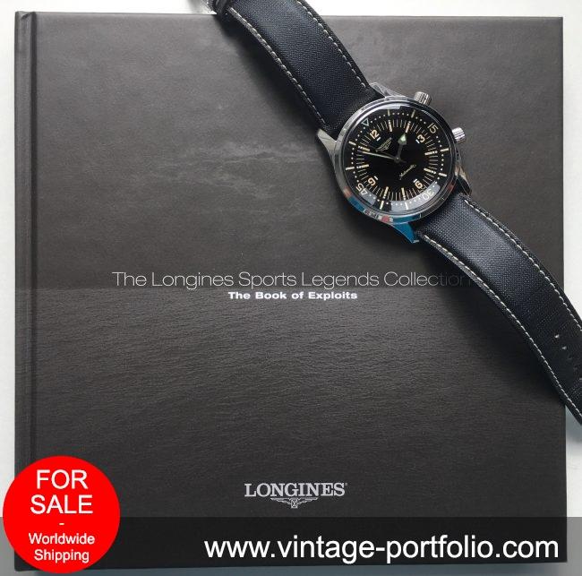 Original Longines Legend Diver NO Date Full Set - Supererare
