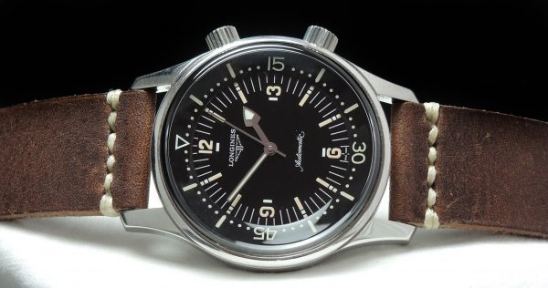 Vintage Longines Legend Diver No Date with Papers