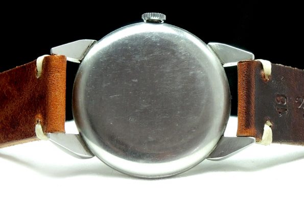 Amazing 36mm Massvie Longines Teardrop Lugs Vintage Steel