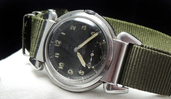 Military Omega 36mm Oversize Jumbo Scarab ww