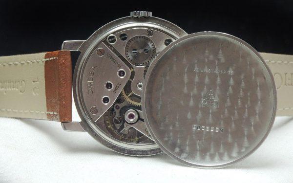 Military Omega black GILT dial Vintage