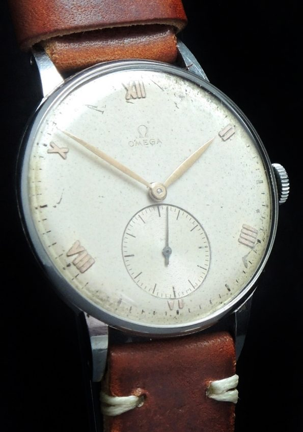 Rare Omega 37mm Oversize Jumbo Vintage 1945