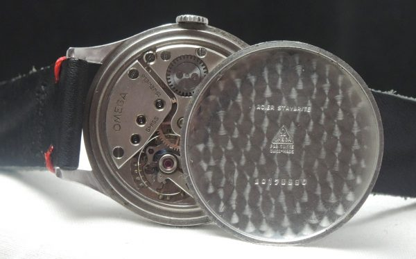 Important Omega 38mm Oversize Jumbo Vintage white 30t2 1943
