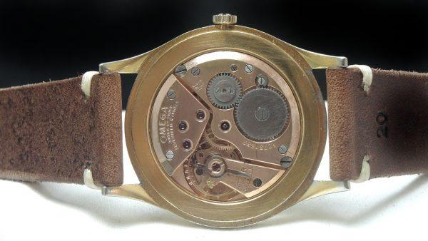 Genuine Omega 38mm Oversize Jumbo Vintage gold plated