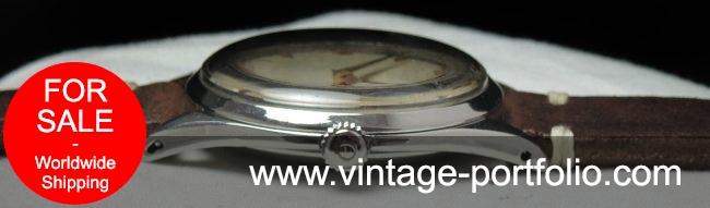 Rare Omega 38mm Oversize Jumbo Honeycomb Vintage